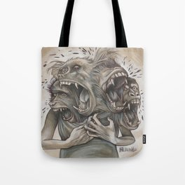 One Screaming Monkey at a Time Tote Bag