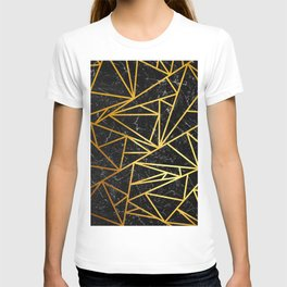 GEOMETRIC BLACK MARBLE T-shirt