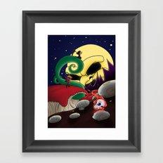 Under Hell's Light Framed Art Print