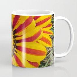 Orange and Yellow Flower Coffee Mug