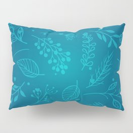 Winter flower Pillow Sham