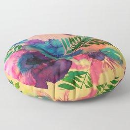 Skye Floral Floor Pillow
