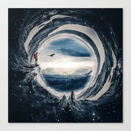 Stereographic Projection by GEN Z Canvas Print