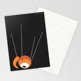 sputnik glance Stationery Cards