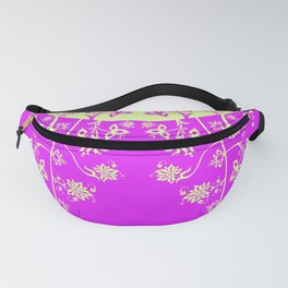 floral ornaments pattern rgip120 Fanny Pack