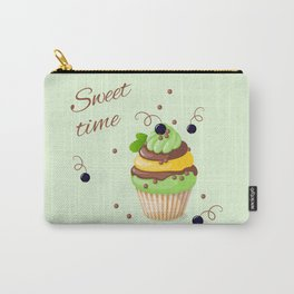 cupcake with black currant and mint Carry-All Pouch