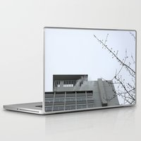 building Laptop & iPad Skins featuring Building by RMK Photography