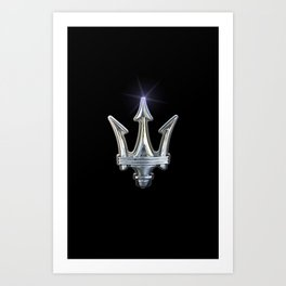 Maserati Art Print