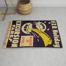 Vintage poster -  New Zealand Rug