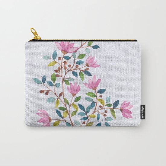 flowers 477 Carry-All Pouch