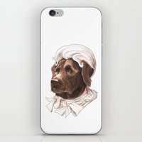 labrador iPhone & iPod Skins featuring Labrador by Petty Portraits