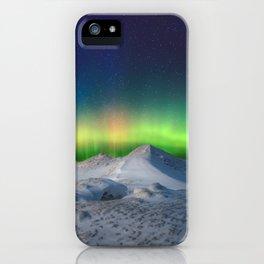 Glen Arbor Michigan Northern Lights iPhone Case