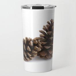 Two pinecones Travel Mug