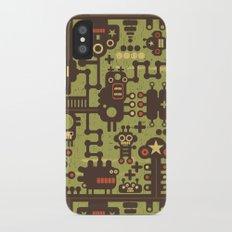World of robots. Slim Case iPhone X
