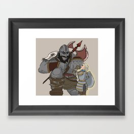 Grog and Pike Framed Art Print