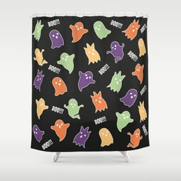 Ghosts BOO!!! Shower Curtain