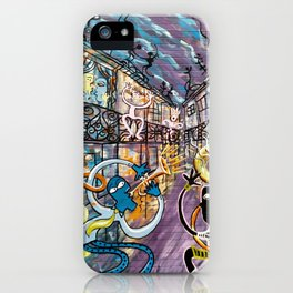 French Quarter Street Musicians iPhone Case