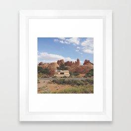 Rock Camper Framed Art Print