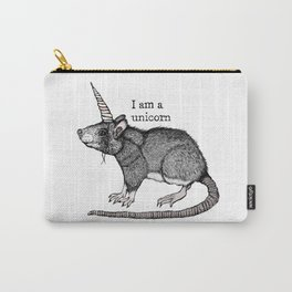 Unicorn Rat Carry-All Pouch