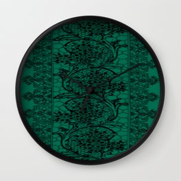 Vintage Lace Lush Meadow Wall Clock