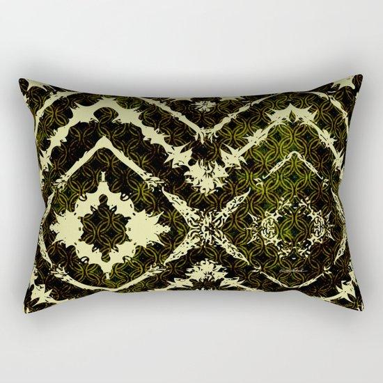 Inkatha Gold Rectangular Pillow
