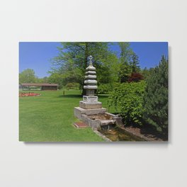 Joe and Marie Schedel Pagoda-horizontal Metal Print