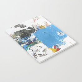 Crow Abstract Art Notebook