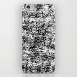 Black Pattern#4 iPhone Skin