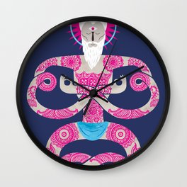 Unwind your mind Wall Clock