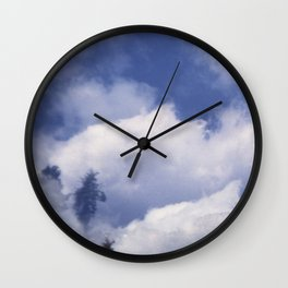 Midday Cloudscape Wall Clock