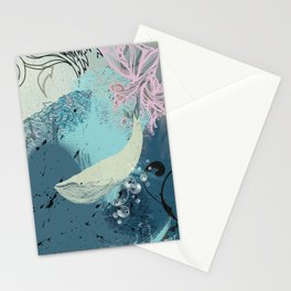 Into the Blue Stationery Cards