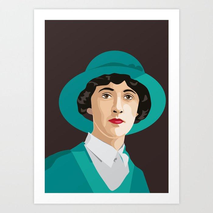 Agatha Christie Kunstdrucke