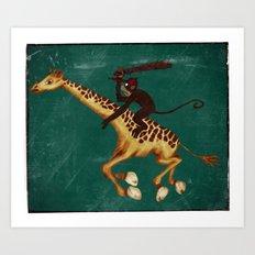 Run Through the Jungle Art Print