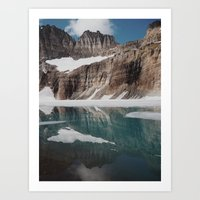 Grinnell Glacier Art Print