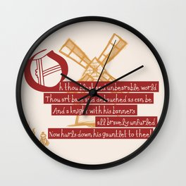 La Mancha Wall Clock