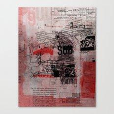 misprint 102 Canvas Print
