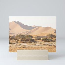 Sossusvlei, Deadvlei in Naukluft Park, Namibia Mini Art Print