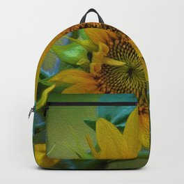 Sunflower Solar System Backpack