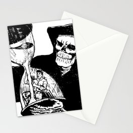 The Reaper's Time Stationery Cards