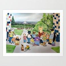 Heroes Journey Art Print