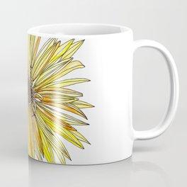 Yellow Gerber Daisy Coffee Mug