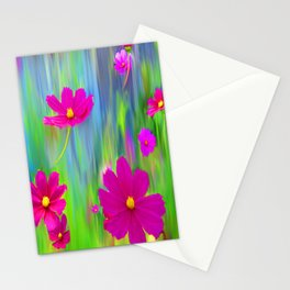 Funky Cosmos Stationery Cards