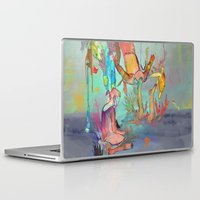 archan nair Laptop & iPad Skins featuring Soulipsism by Archan Nair
