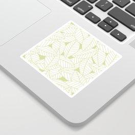 Leaves in Fern Sticker