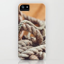 Tangled & Worn iPhone Case