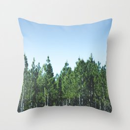 I wood know Throw Pillow