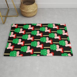 Frankenstein Ice Block Rug