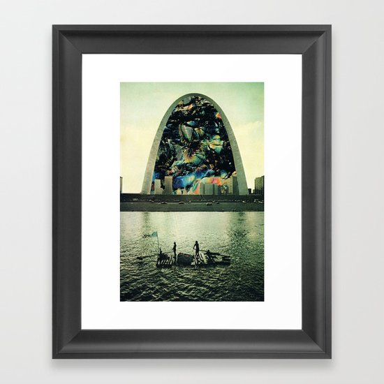 Nugget of peacock Framed Art Print