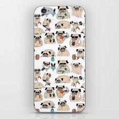 Pugsgym iPhone & iPod Skin