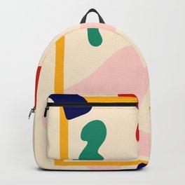 Happy Little Pattern II. Backpack